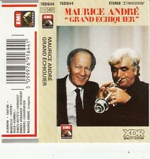 K 7 AUDIO (TAPE)  MAURICE ANDRE JACQUES CHANCEL *LE GRAND ECHIQUIER* (TROMPETTE)