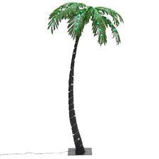 BCP Artificial Decorative Prelit Palm Tree Plant W/ 88 LED Lights