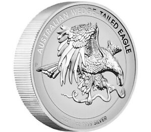 *In Hand* 2021 Australian Wedge Tailed Eagle Enhanced Reverse Proof High Relief