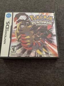 Pokemon: Platinum Version (Nintendo DS, 2009) Free Postage