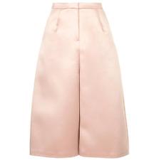 Topshop BNWT Women's Pink Wide Leg Short Culottes Trousers UK 8 EU 36