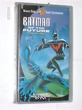 BATMAN OF THE FUTURE - FUGA DAL GELO vhs NUOVO sigillato 02-2001 Warner