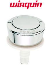 Wirquin 19007001 Jollyflush Replacement Toilet Push Button Single Flush Chrome