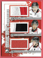 2011-12 Jenner - McKegg - Thomas ITG In The Game Heroes & Prospects Jersey /70