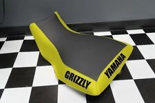Yamaha Grizzly 700 Yellow Sides Logo Seat Cover #yz116kya116
