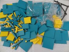 Lot: Plastic Yellow and Green Algebra Tiles Assortment Shown