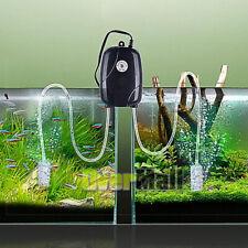Air Pump 2 Outlets for Aquarium Fish Tank Hydroponic Pond