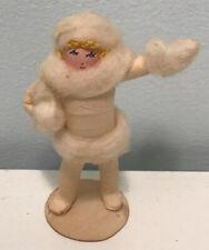 3.5� Doll Original Ravca Flapper Showgirl Crepe Paper