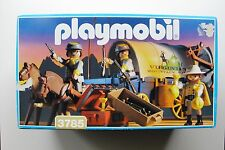 PLAYMOBIL 3785 WESTERN CONFEDERATE COVERED PAY WAGON  MIB * OVP * MIB *