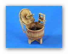 Verlinden 1/35 VP 2680 Antiguo Máquina de lavar de madera