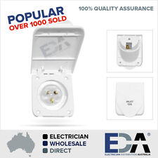 NEW Caravan 15 Amp Power Inlet for Motor home and RV 240V Electrical Socket