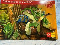 Postcard from Magic The Gathering. Goblin: Red Fire and Chaos
