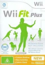 Wii & Wii U - Wii Fit Plus (Game Only) **New & Sealed** Official UK Stock