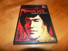 HOW BRUCE LEE CHANGED THE WORLD Martial Arts Hero History Channel DVD NEW
