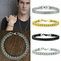 Men Fantastic Stainless Steel Cuff Wristband Bangle Boy's Cool Bracelet Jewelry