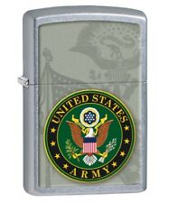 Zippo Windproof Lighter With U.S. Army 28632