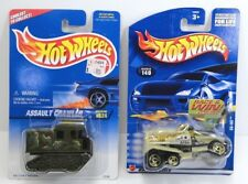 Hot Wheels Lot of 2 Assualt Crawler '96 and XS-IVE '01 Mint on Card