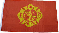 3x5 Fire Fighter Department Premium Flag 3'x5' Banner Grommets Fade resistant