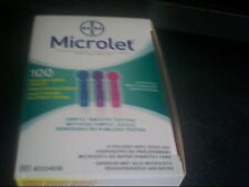 Microlet Lancets Pack of 100 x 1 08/2020