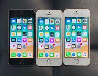 AT&T Apple iPhone 5S 4G LTE GSM Smartphone ATT Black Silver Gold 16GB 32GB 64GB