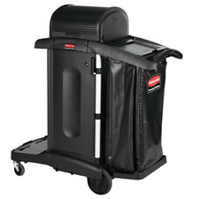 Rubbermaid Commercial 1861427 Exec Hi Security Janitorial Cleaning Cart 231w