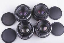 ARSAT H (Helios-81N) 2/50 Soviet lenses, set 4 pcs, for Nikon, Canon, Sony etc