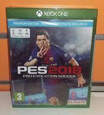 PES 2018 Premium Edition (Pro Evolution Soccer 2018) XBOXONE NUOVO ITA