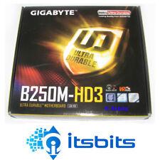 GIGABYTE B250M-HD3 MOTHERBOARD INTEL 1151 GEN 6/7 TWO DDR4 SLOTS HDMI DVI-D DSUB