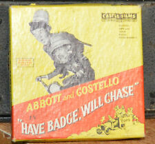 ABBOTT AND COSTELLO HAVE A BADGE WILL CHASE CASTLE 8mm FILM