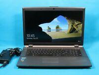 "Clevo W370SS 17.3"" Gray DVD Laptop Core i5-4200M 2.50GHz 8GB RAM 500GB HDD Win10"