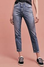NWT AG THE PHOEBE VINTAGE TDU ULTRA HIGH-RISE TAPERED JEANS