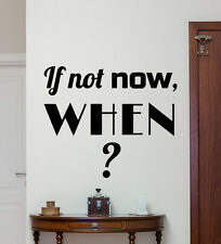 Motivation Quote Wall Decal Work Office Vinyl Sticker Poster Print Decor 32quo