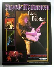 YNGWIE MALMSTEEN Live at Budokan BAND SCORE JAPAN GUITAR TAB