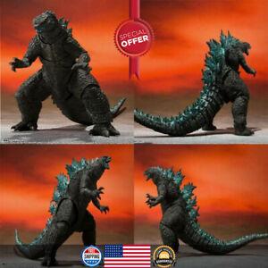 Godzilla Vs Kong 2021 Godzilla S.h. Monsterarts Tamashii Action Figure Toys New