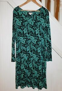 MONSOON SIZE 18 - LONG SLEEVE FLORAL WINTER CASUAL DRESS