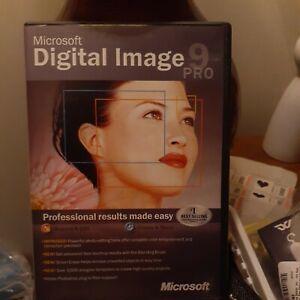 Microsoft Digital Image 9 Pro (PC, 2-CD, 2003) No booklet - Discs VGC Win 98/XP