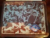 new york yankees 100th anniversary lunchbox lunch box modells 100 tin babe ruth