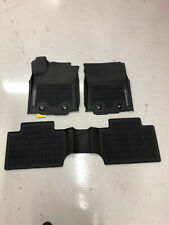 TOYOTA TACOMA C-CAB 2018-2020 3PCS BLACK ALL WEATHER FLOOR LINERS PT908-35172-20