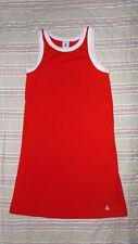 jolie robe  été rouge  PETIT BATEAU 10 ans 138 CM