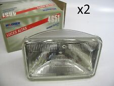 (2) Wagner 4651 Headlight Headlamps
