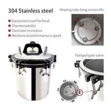 Pression stérilisateur à vapeur autoclave 18L Stérilisateur haute température