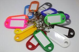 Schlüsselschilder zum Beschriften Schlüsselanhänger Anhänger Etiketten Einseitig