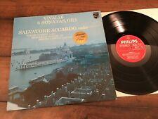 Vivaldi: 6 Sonatas ACCARDO, Gazeau, Saram Philips 9500 396 Import M- Gem!