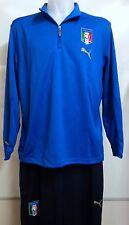 Italy Blue and Navy Training Suit by PUMA Adults Size Large With Tags