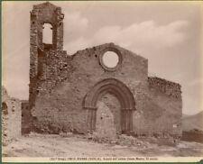 BIVONA (Agrigento) Panorama. Bella foto fine 1800