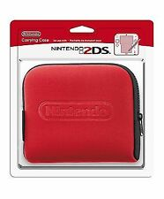 Official Nintendo 2ds Console Carrying Travelling Case Red