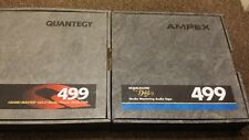 QUANTEGY AMPEX 499 / 456 2 INCH ANALOGUE TAPE FOR ANALOG REEL TO REEL RECORDER