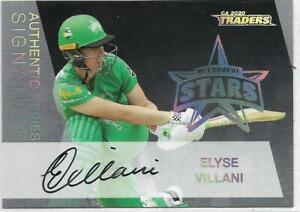 2020/21 Cricket Traders Authentic Signature (AS6) Elyse VILLANI Stars 016/133