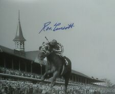Secretariat Ron Turcotte autograph Kentucky Derby 11x14  1973 triple crown