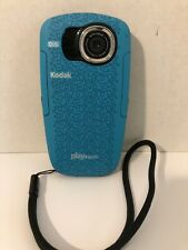 Kodak PlaySport (Zx5) HD Waterproof Pocket Video Camera Blue Used
